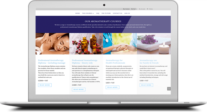 Online aromatherapy courses