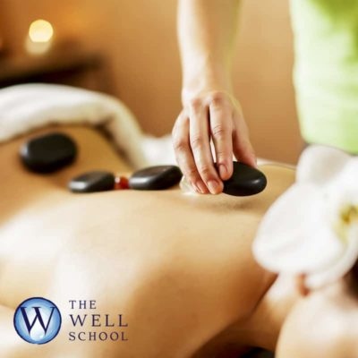 Aromatic hot stone full body massage