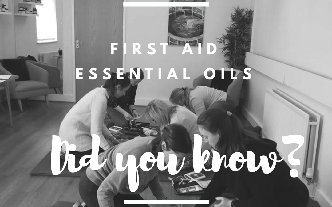 Essential Oils for First Aid