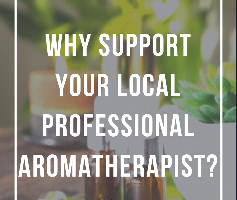 Why use a professional aromatherapist?
